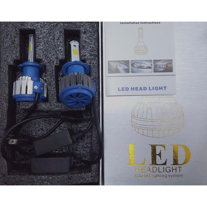 Kit h7 lampade a led cree full led 2600 lumen 6000k 12v for Lampade a led lumen
