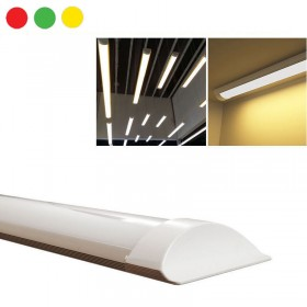 NEON BARRA LED APPLIQUE SOFFITTO PLAFONIERA SMD 60-120 CM CALDA FREDDA NATURALE