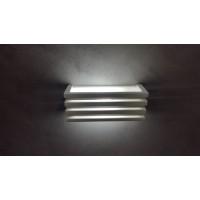 APPLIQUE LAMPADA DA MURO / PARETE IN GESSO VERNICIABILE LED OFFERTA