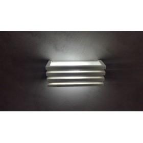 APPLIQUE LAMPADA DA MURO / PARETE IN GESSO VERNICIABILE LED OFFERTA  ATTACCO E27