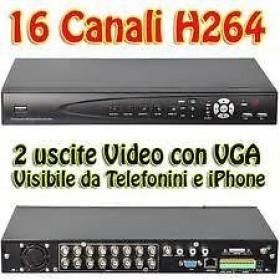 VIDEOREGISTRATORE DVR 16 CANALI