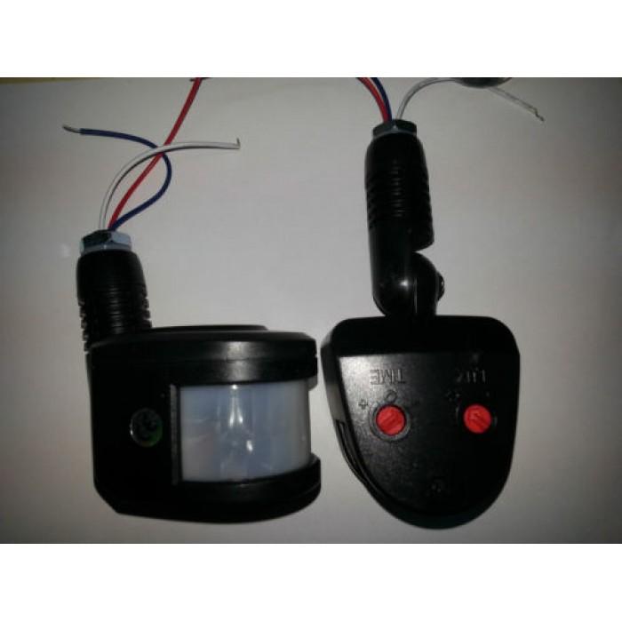 Schema Collegamento Lampada Con Sensore Di Movimento : Sensore di movimento per fari infrarossi crepuscolare faro